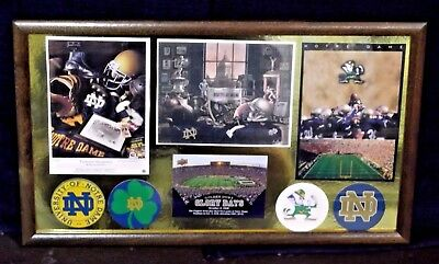 """Notre Dame Collage/Display Piece - 9"""" x 15"""""""