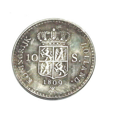 1809 Netherlands Coin 10 stuivers KINGDOM HOLLAND Louis Napoleon Collectible
