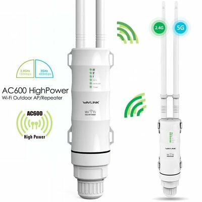 WiFi Wireless Outdoor Extender Access Point 802.11ac Dual Band 5GHz, 600mW, 60m