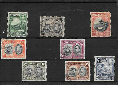 Grenada P014 Coll Of 1938 Kgv1 Mixed Condition Used Stamps