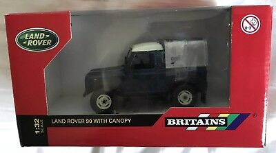 Britains Land Rover 90 With Canopy