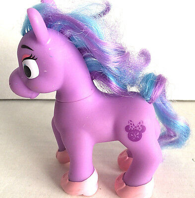 Minnie Jump N Style Pony  Purple with Blue and Purple Hair - Pony Only