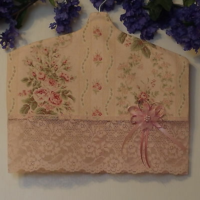Set of 2 cloth protectors & 1 fabric pouch for Baby Girl/Toddler garments, NEW