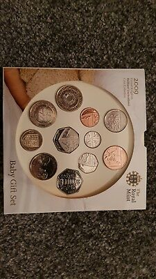 Baby Gift Coin Set UK 2009 including Kew Gardens 50p