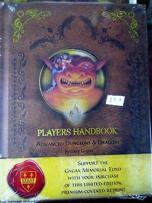 Player's Handbook Advanced Dungeons & Dragons 1St Limited Edition Gary Gygax