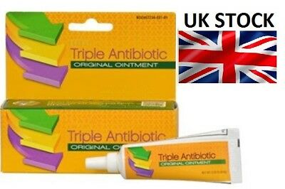 Triple Antibiotic Original First Aid Ointment 24hrs protection 0.3Oz *UK SELLER*