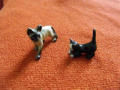 Two Metal Cats Kitten 1/12th Scale Dolls House