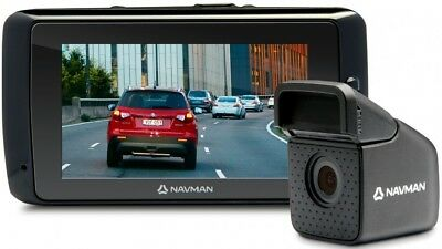 Navman MiVUE 850 Full HD Dashcam with Dual Cameras & GPS Tracking + FREE POST