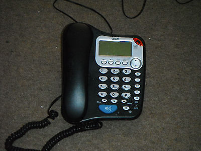Logik Corded Desk Telephone With Answering Machine