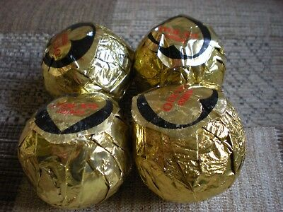 "Vintage Penfold 1.62"" new balls in original wrapping (incl James Bond hearts)"