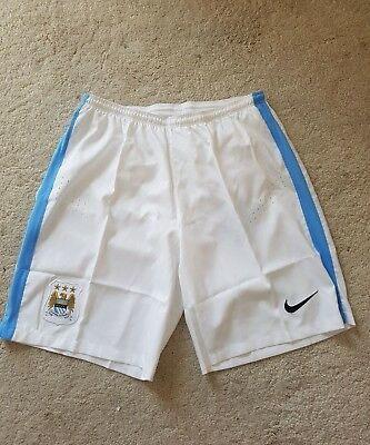Manchester City Player Issue Shorts Size Medium Nike Brand New