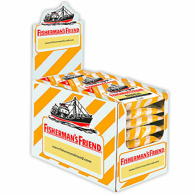 One big Box with 24 Bags x Fisherman´s Friend (Tropical) 24x25g New from Germany