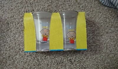 family guy shot glasses stewie griffin