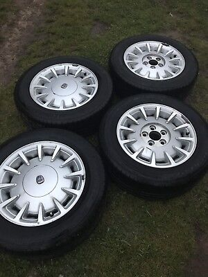 Ford Fairmont Ghia Fairlane Factory Alloy Wheels AU NL 215/60/15 Tyres