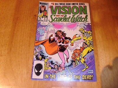 Marvel Comics :The Vision & The Scarlet Witch  #5