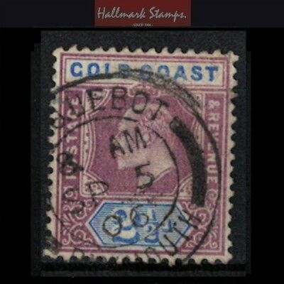 Gold Coast stamp Paquebot - Edward vii era used  crown CA - useful sg41