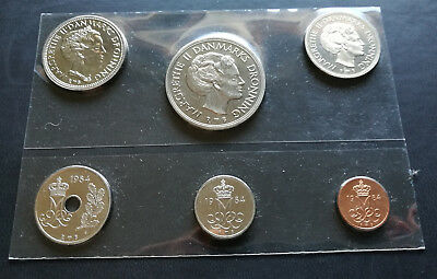 Danish coins set 1984 UNC