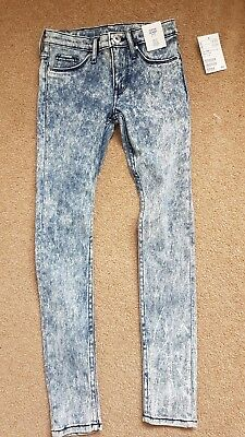 Kids super skinny fit jeans h and m 8 to 9 bnwt