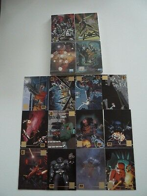 ** Star Wars Galaxy Series 3 Trading Cards Complete Set Plus Chase Card Set **