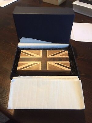 David Linley Union Jack Matchbox Sleeve