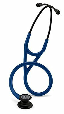 "3M Littmann Cardiology IV Stetho. #6168   27"" Black Finish/Navy 7 YR US WARRANTY"