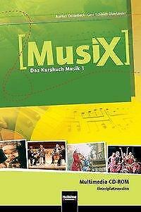 Detterbeck, Markus: MusiX 1. Multimedia CD-ROM (Einzelplatzversion)