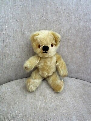 """Tiny 8.5"""" Rare Antique Old Chad Valley Baby Teddy Bear ?"""
