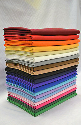WHOLESALE FULL 15MT ROLLS - CRAFT FELT FABRIC METRE Material 150cm Wide Acrylic