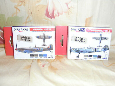 Acrylic Paints RAF in Africa/ Luftwaffe in Africa  HATAKA PAINTS  HTKAS08/ 06
