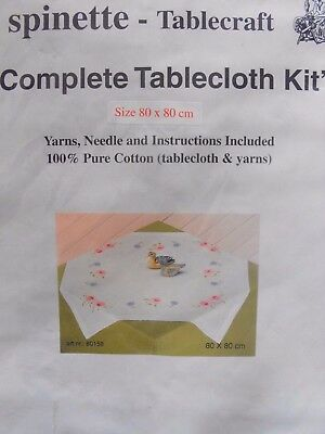 Complete Table Cloth Embroidery Kit