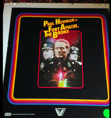 Fort Apache, The Bronx RCA VideoDisc ced