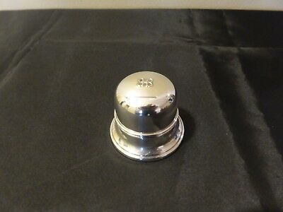 Vintage Birks Sterling Silver BB Dome Ring Box  - Excellent Condition