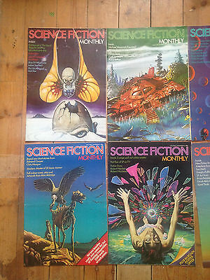 Science Fiction Monthly - Volume 2, Issues 1 - 12