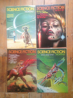 Science Fiction Monthly - Volume 3, Issues 1 - 4