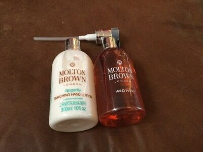 New Molton Brown 300ml Gingerlilly Hand Lotion And Hand Wash
