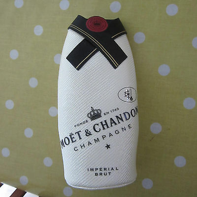 Luxury Moet & Chandon Champagne Bottle Insulated Cooler Cover