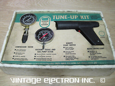 Sears TUNE-UP KIT - Timing Light, Compression Tester, Fuel Pump Tester - 28-2130
