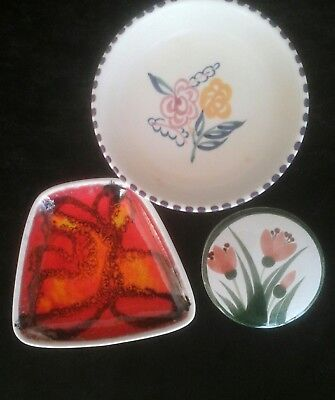 Poole Pottery - small collection of 3 items