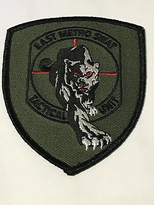 Roseville Minnesota East Metro Swat Tactical Unit Police Patch