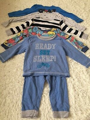 18-24 Months Boys Pyjama Bundle