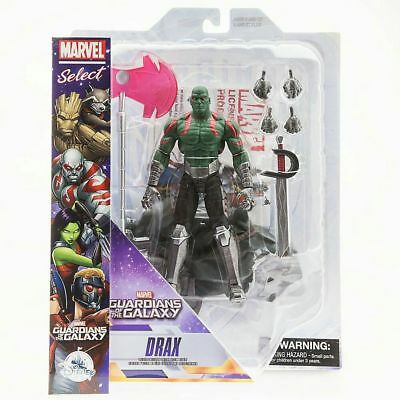 """Disney Store Guardians Of The Galaxy Marvel Select / Legends 7 """" Drax"""