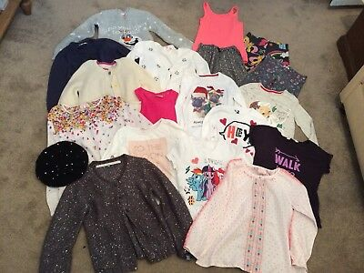 Large bundle of girls winter clothes age 8-10 VGC, inc Christmas jumpers, Joules