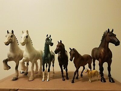 Peter Stone horse lot of 7: many old molds