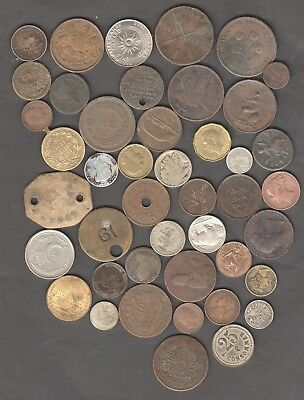WORLD COIN COLLECTION SILVER VICTORIAN ECT NOT HOLIDAY CHANGE AUCTION STARTs £1