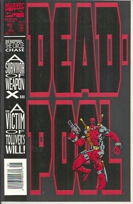 Marvel Deadpool The Circle Chase #1 (1993) First appearance Slayback