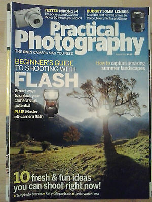 Practical Photography August 2014.