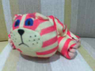 "Bagpuss 5 1/2"" long Beanie Plush Soft Toy from McDonalds"