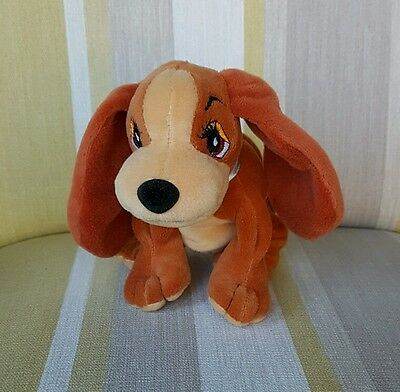 "Lady from Lady and the Tramp 6"" beanie plush soft toy"