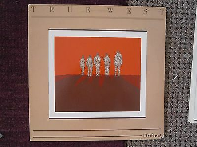 ''true West ''- Drifters----Psychadelic Rock/-Indie / --1984--Canadian  Issue--