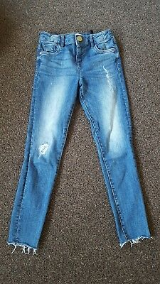 girls age 9 river island jeans